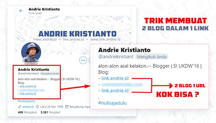 Membuat 2 Blog atau Website Dalam Satu Domain / Link / URL, KOK BISA ?