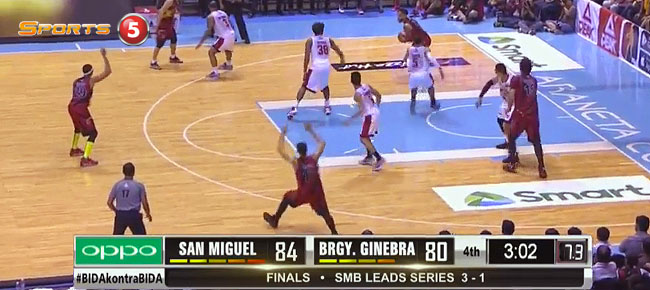 San Miguel def. Ginebra, 91-85 (REPLAY VIDEO) Finals Game 5 / March 5