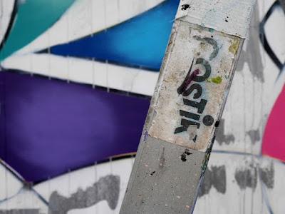 CREN graffiti artist from Berlin @LeMurBrussels #LeMurBrussels