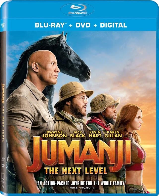 Jumanji The Next Level 2019 x264 720p Esub BluRay Dual Audio Hindi English Telugu Tamil GOPI SAHI