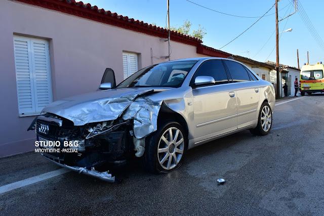 Αργολίδα: Τροχαίο ατύχημα στην Πυργέλα Άργους