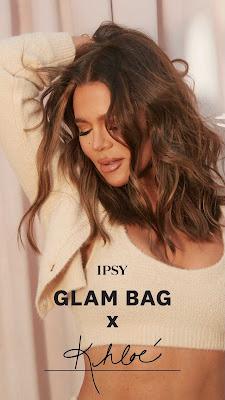 Khloe Kardashian Ipsy glam bag collab