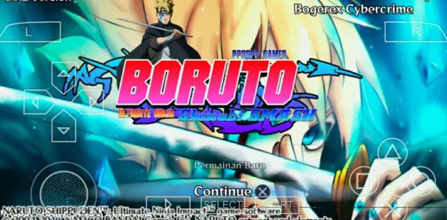 Boruto Ultimate Ninja Shinobi (Mod PPSSPP)