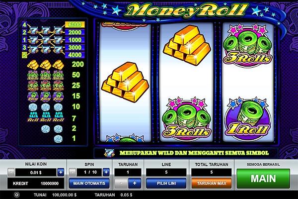 Main Slot Gratis Indonesia - Money Roll (Pragmatic Play)