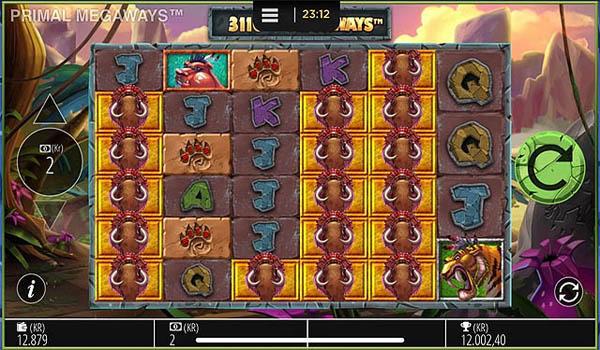 Main Gratis Slot Indonesia - Primal Megaways (Blueprint Gaming)