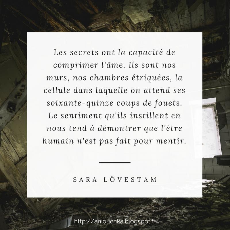 Chacun sa vérité de Sara Lövestam