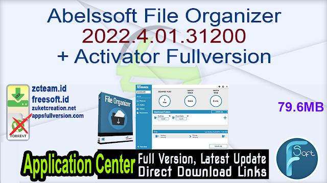 Abelssoft File Organizer 2022.4.01.31200 + Activator Fullversion
