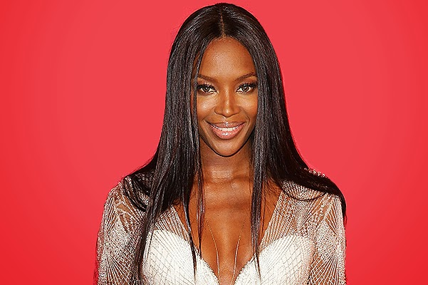 Naomi Campbell at the Australian awards Men Of The Year