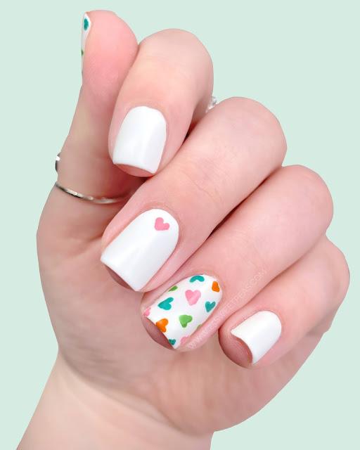 Mini Heart Nail Art - 25-Sweetpeas