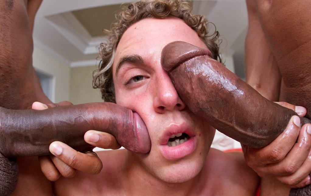 Sucking Really Big Dick