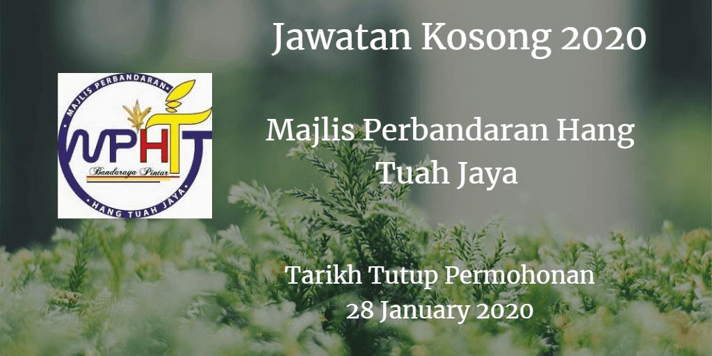 Jawatan Kosong MPHTJ 28 January 2020