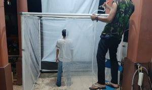 Desa di Pemalang Ini Sediakan Bilik Sterilisasi untuk Pemudik yang Baru Pulang