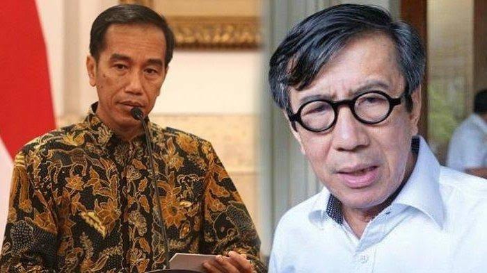 Satu Poin yang Dilupakan Jokowi Soal Yasonna Laoly