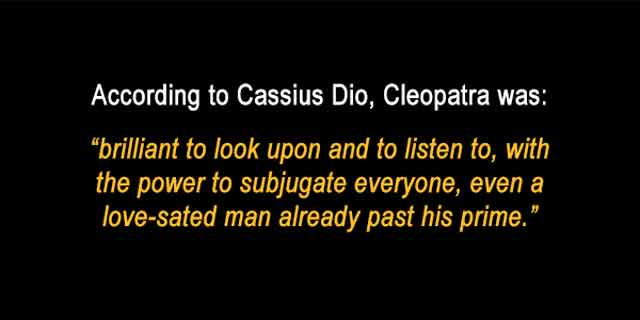 Cleopatra quote
