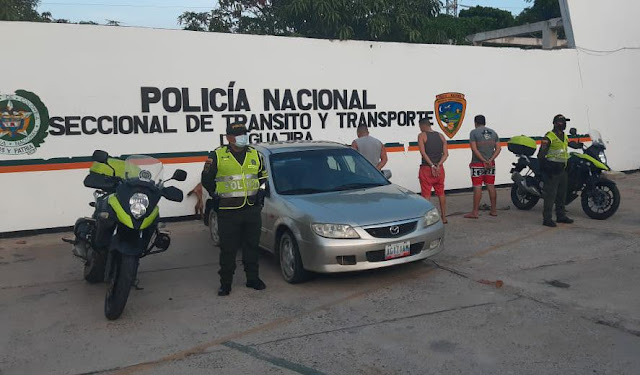 hoyennoticia.com, Sorprendidos cuatro ladrones de chivos en la Troncal del Caribe