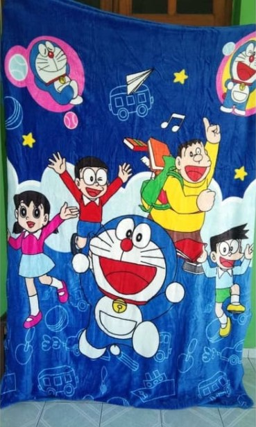Harga Selimut Bonita Motif Doraemon