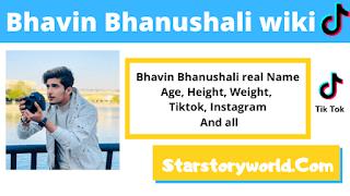 Bhavin Bhanushali [ Actor ] Family, Biography, Girlfriend, TV Shows, Movie & Height, Weight