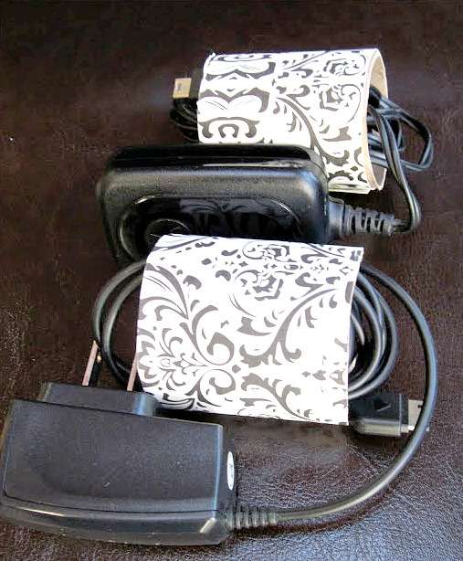 Free Cord Organizer for the Junk Drawer