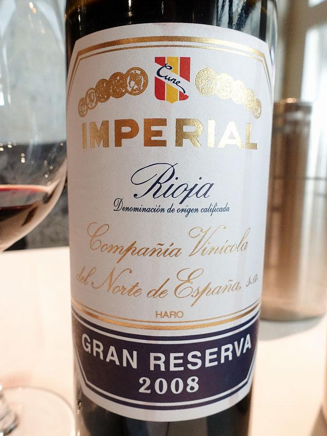 CVNE Imperial Gran Reserva 2008 (91 pts)