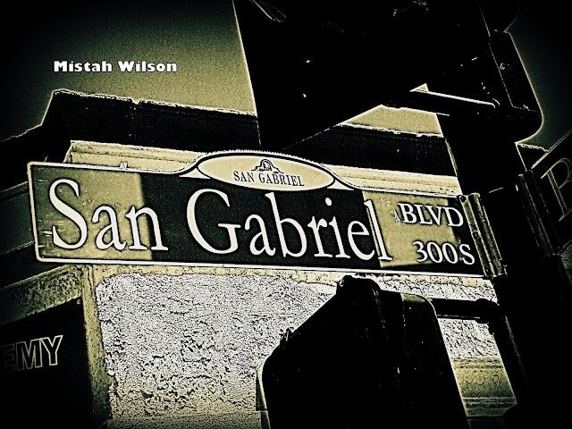 San Gabriel Boulevard, San Gabriel, California by Mistah Wilson