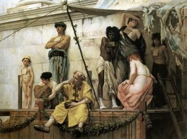 Il mercato degli schiavi ante 1882 - Gustave Clarence Rudolphe Boulanger