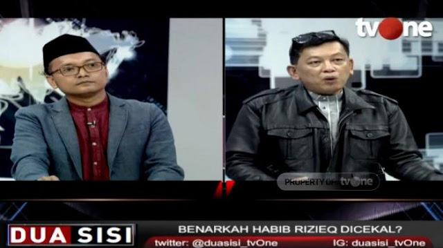 Gunrom Samakan Habib Rizieq dengan TKI, Ketua HRS Center Naik Darah