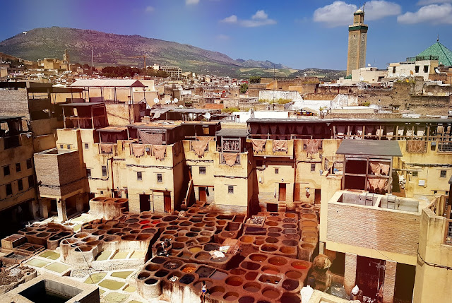 Fes, Morocco, tanneries