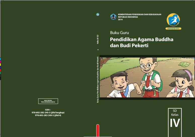 Download Gratis Buku Guru Pendidikan Agama Budha Dan Budi Pekerti Kelas 4 SD Kurikulum 2013 Format PDF
