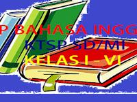 Download RPP Bahasa Inggris KTSP SD/MI Kelas 1 Sampai kelas 6