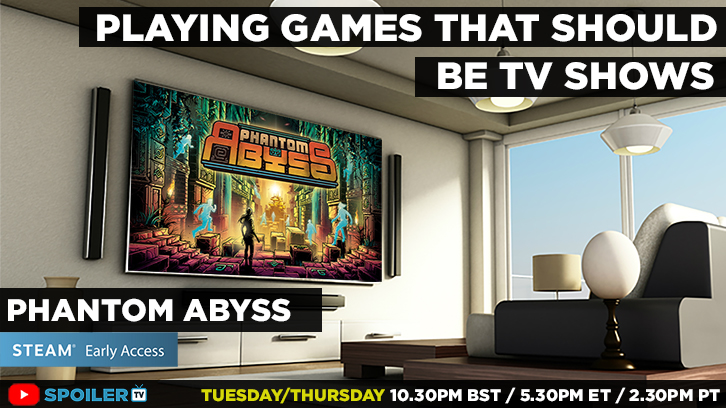 LIVE NOW - Playing Games That Should Be TV shows - Early Access Phantom Abyss