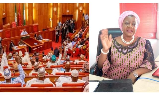 Senate rejects Buhari's aide, Lauretta Onochie for INEC role