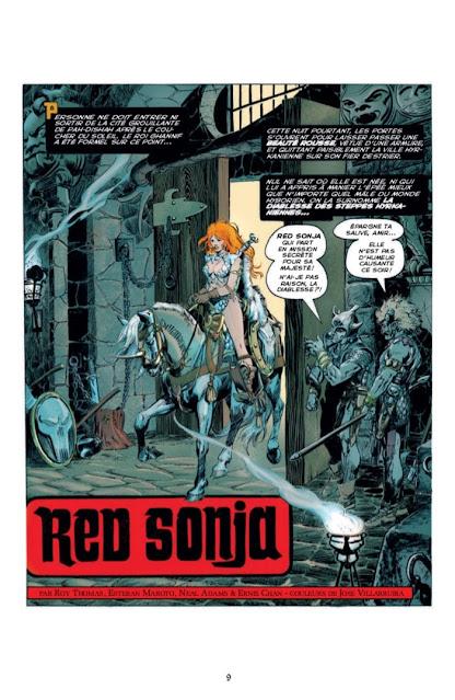 Les aventures originales de Red Sonja La diablesse à l'épée - Les années Marvel, Volume 1 éditions Graph Zeppelin Page 9