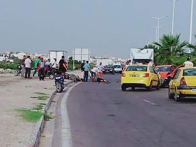 المهدية : حادث مرور خطير يسفر عن 5 إصابات