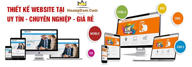Dịch vụ thiết kế website đẹp giá rẻ - uy tín - chuyên nghiệp