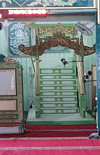 mimbari di masjid sultan suriansyah