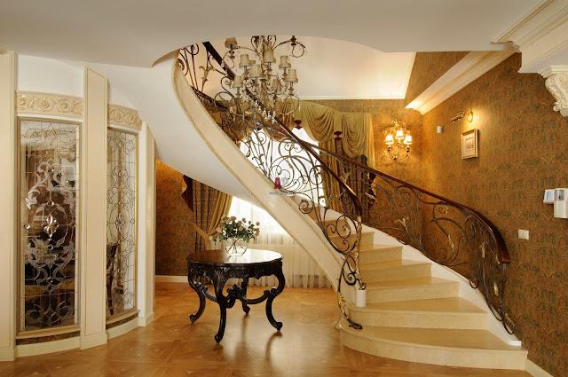 Cầu thang cho biệt thự - mẫu số 4