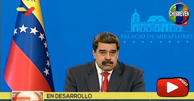 Maduro dice que votó en Fuerte Tiuna porque lo querían asesinar en vivo y directo