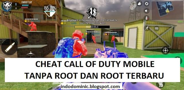 Cara Cheat Call of Duty Mobile No Root & Root Terbaru