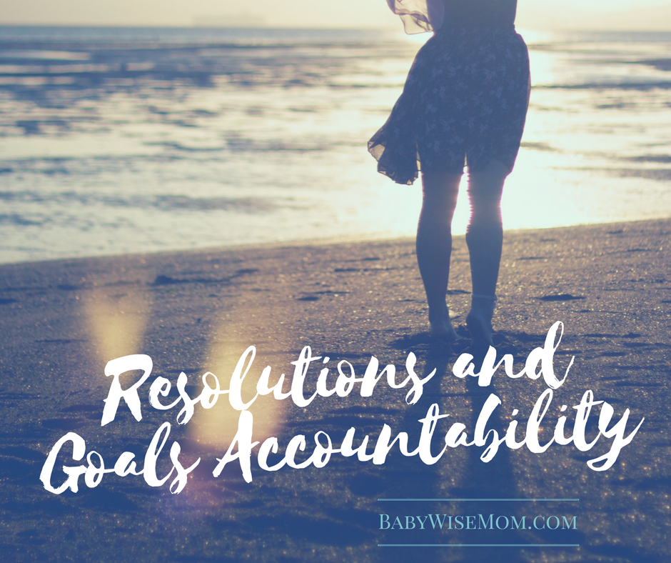 Goal/Resolutions Accountability