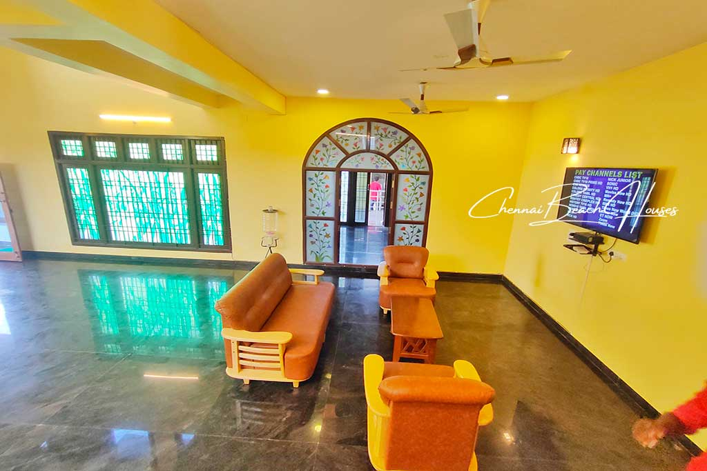 mahabalipuram beach house for rent