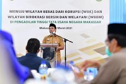 Andi Sudirman Sulaiman Hadiri Deklarasi Pencanangan Pembangunan Zona Integritas PTTUN