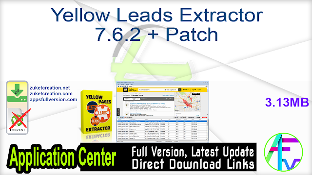 Yellow Leads Extractor 7.6.2 + Patch