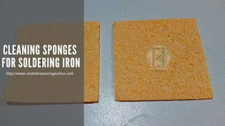 Cleaning Sponge is used to clean the tip of soldering iron while soldering