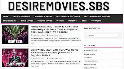 Desiremovies World Illegal Bollywood, Hollywood, South Hindi Dubbed Movie Download