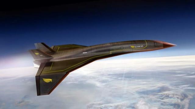 AU Amerika Siap Uji Pesawat Tanpa Awak Dengan Kecepatan Hipersonik