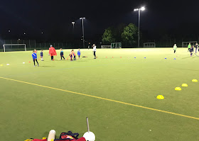 Whitley Bay and Tynemouth Hockey Heroes lesson