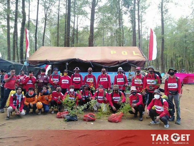 Hari Ini Kapolres Gowa Bersama Personil Pantau Gunung Bawakaraeng