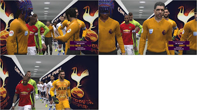 Tottenham Hotspurs Tunnel For PES 17 by RND Creative PES