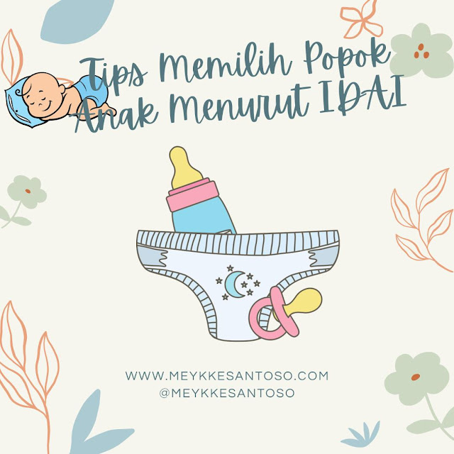 Tips memilih popok bayi menurut IDAI