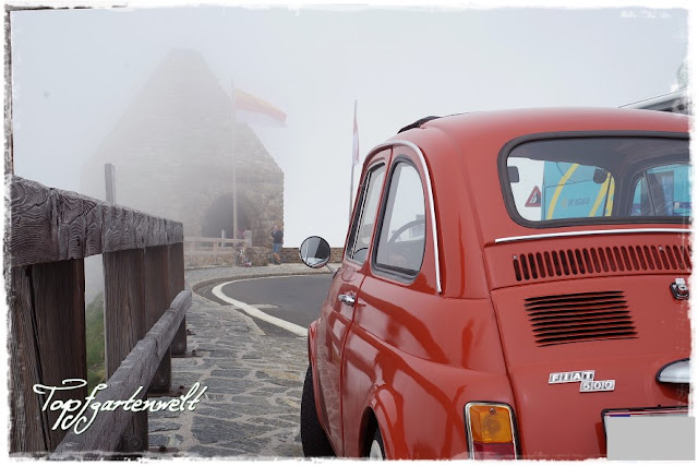 Fuscher Törl | Großglockner Hochalpenstraße | Fiat 500 | Oldtimer - Blog Topfgartenwelt